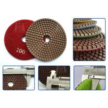 "4""Copper Resin Bond Polishing Pad"